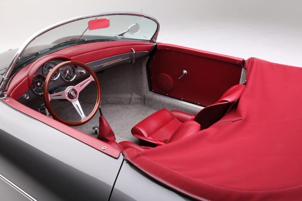 Speedster Interior
