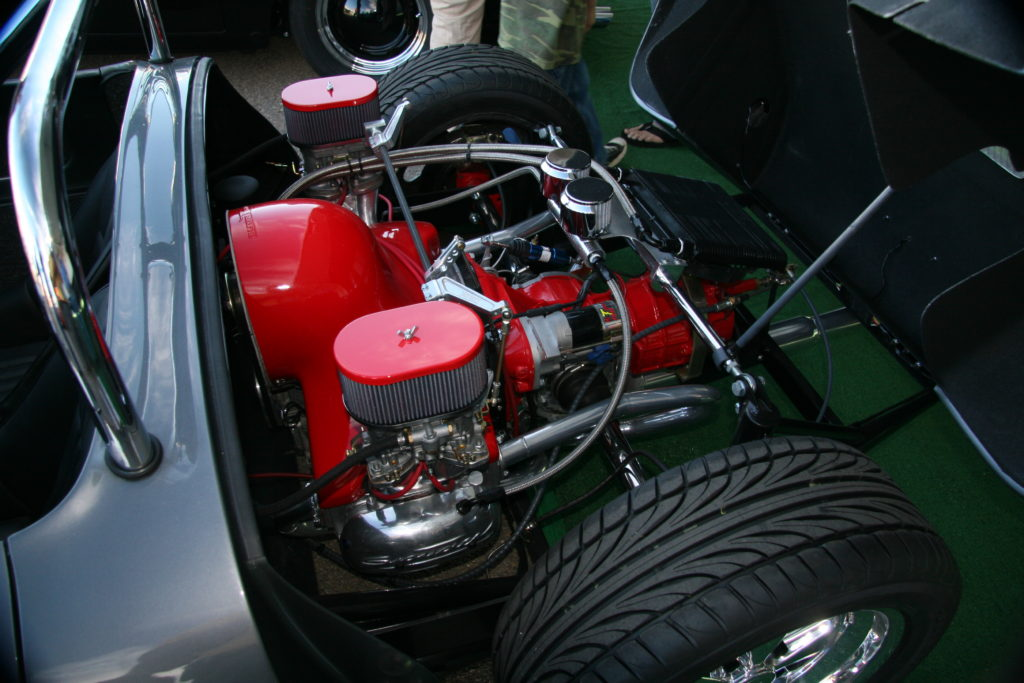 Spyder - Finished engine